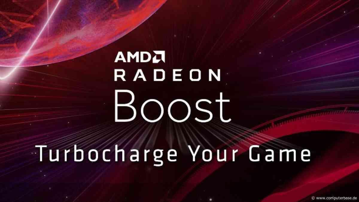 """AMD Radeon Adrenalin 2020: Bilder zeigen """"Radeon Boost"""" als Treiber-Aufwertung [Notiz]"""