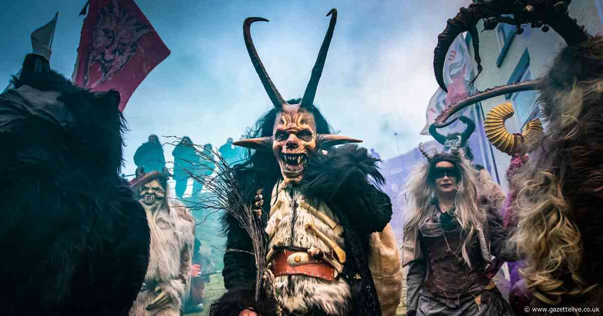 Whitby Krampus Run: The reason why these monsters paraded around seaside town's cobbled streets