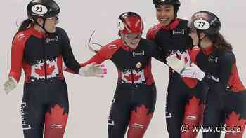 Kim Boutin wins short track bronze, helps Canada to relay gold
