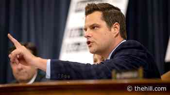 Gaetz defends Ukraine call: Trump acted on 'sincere' concerns of corruption