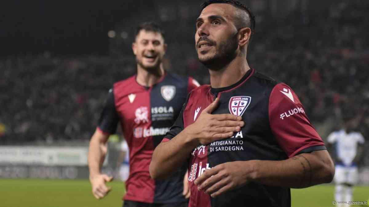 Coppa Italia, Cagliari-Samp 2-1: Cerri, Ragatzu e Gabbiadini a segno