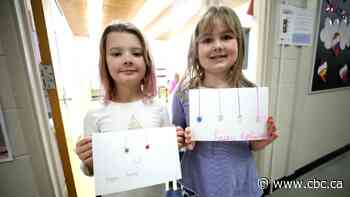 'Dear friend': Regina kids make cards for Makwa Sahgaiehcan First Nation School