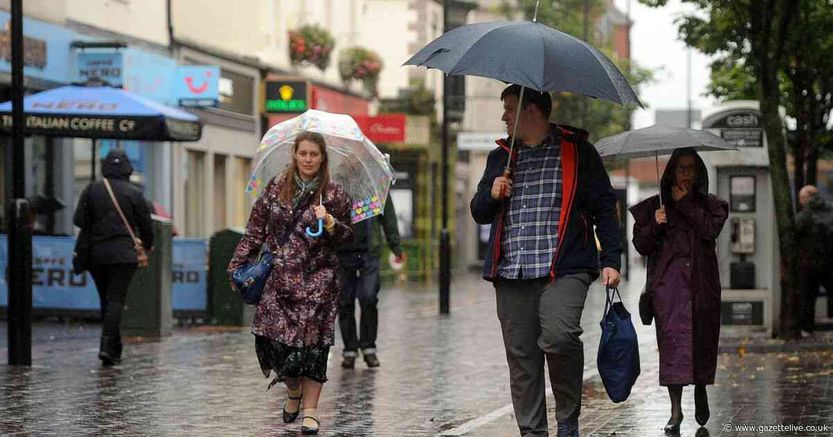 Gale force winds hit North-east - and the grim weather's showing no signs of stopping