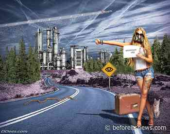 """The Man Behind the Artwork You've All Seen, Flat Earth, Aliens, Electronic Harassment & Dancing Israelis """"Must Watch"""" (End of Days)"""