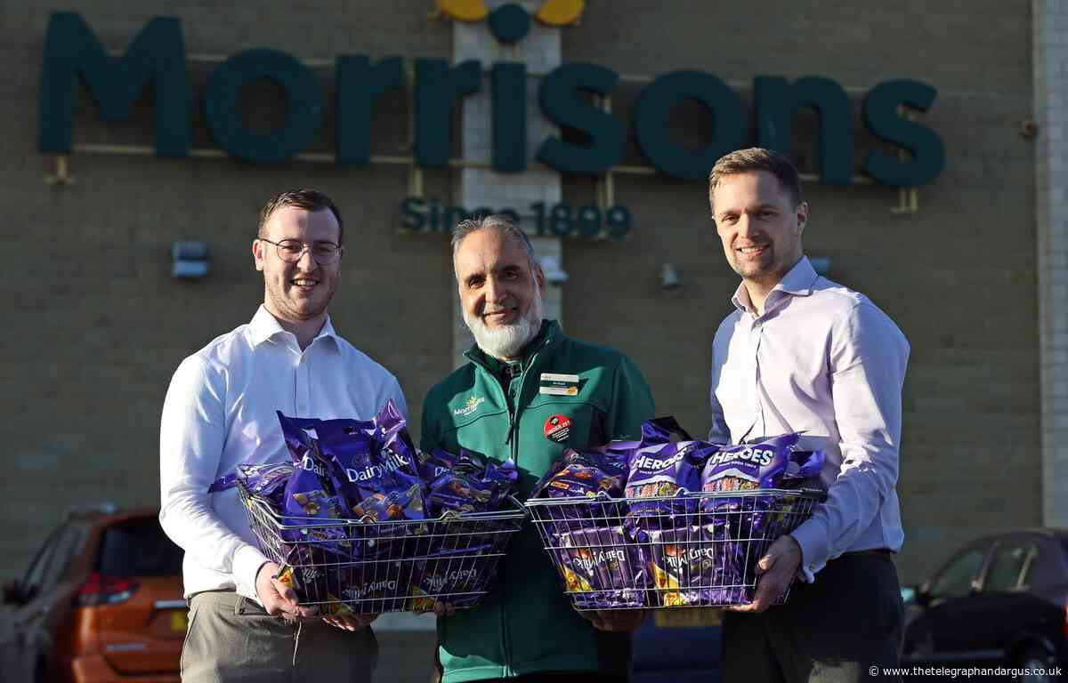 Morrisons donates chocolate for Bradford Soup Run appeal