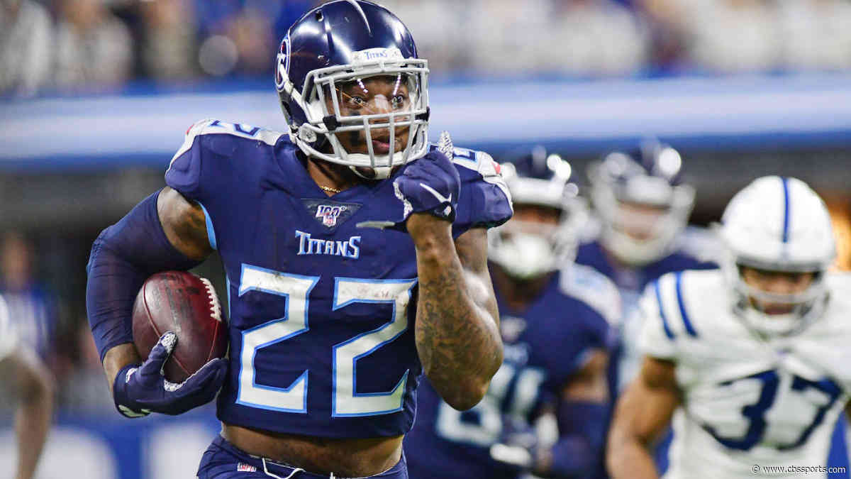 Titans reportedly haven't discussed extension for Derrick Henry, who's third in the NFL in rushing