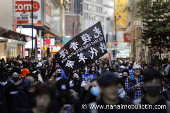 Hong Kong protests mark 6-month mark with massive rally