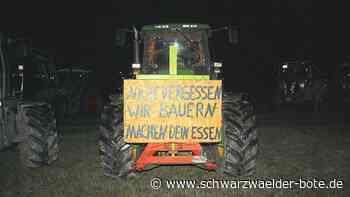 Althengstett: Landwirte machen auf Probleme aufmerksam