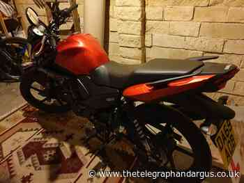 Appeal to trace Yamaha bike stolen in Saltaire