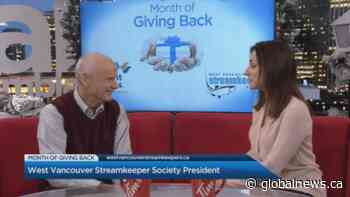 Month of Giving Back: West Vancouver Streamkeeper Society