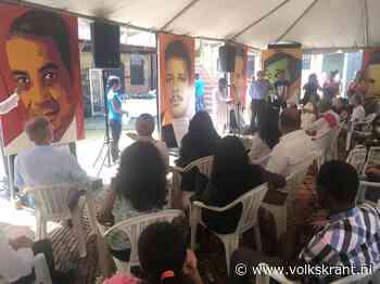 Herdenking in Paramaribo: eindelijk begint na de 'gerechtigheid' het helen