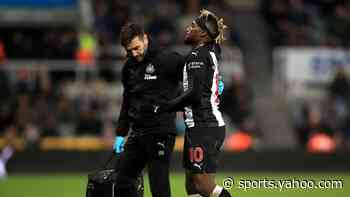 Newcastle win dampened by Saint-Maximin injury