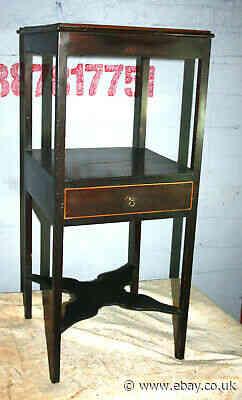 Pretty Georgian mahogany  bedroom bedside cabinet  night table 1800