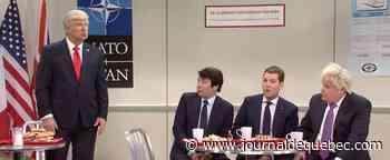 La séance de potinage de Trudeau parodiée à «SNL»