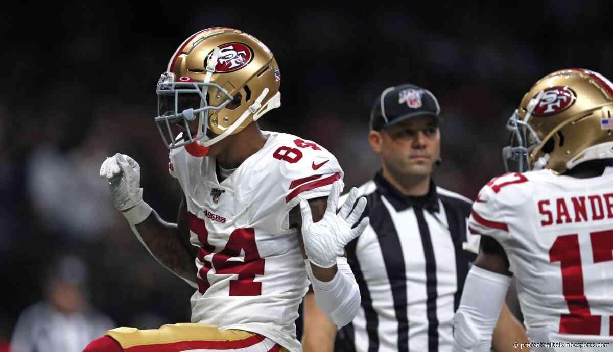49ers rally to take 28-27 halftime lead over Saints