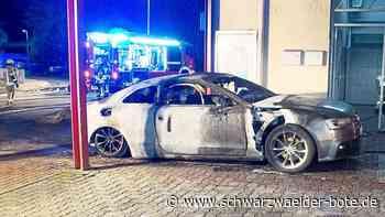 Pforzheim: Polizei fasst mutmaßlichen Feuerteufel