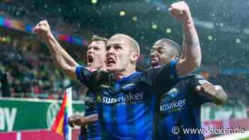 Michel jubelt verspätet: Paderborn feiert zweiten Saisonsieg
