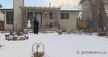 Winnipeg woman chases brazen Christmas decoration thief