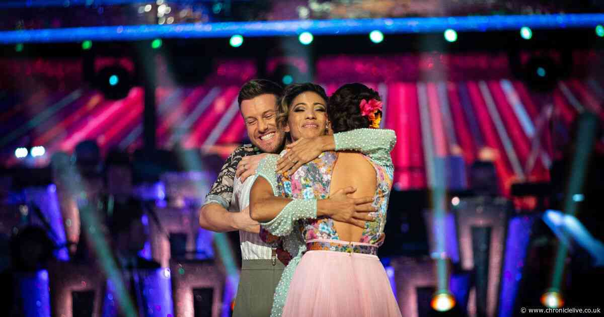 Chris Ramsey leaves Strictly Come Dancing but gets amazing send-off