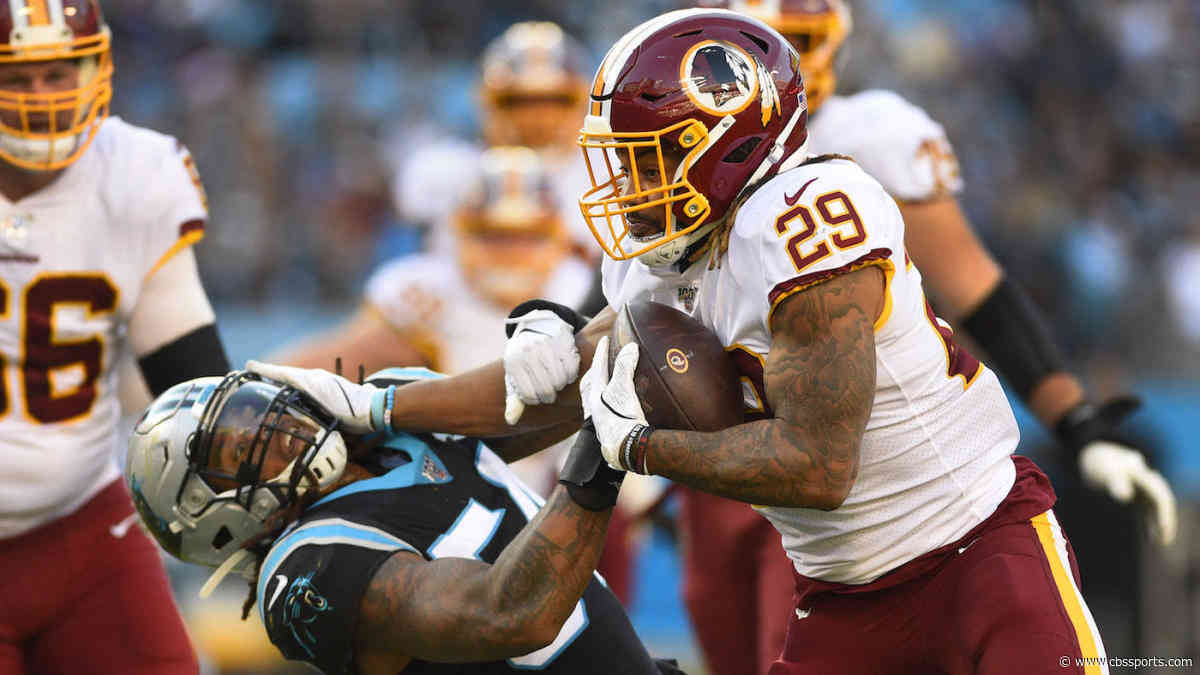 Derrius Guice will not return to Week 14 matchup vs. Packers due to a knee injury