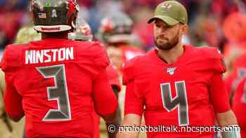 Ryan Griffin in at quarterback for Bucs