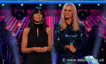 Twitter users say Tess Daly looks 'like a Quality Street' during Strictly Come Dancing semi-final