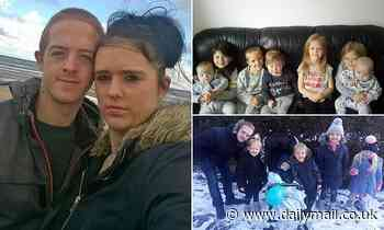 Couple with seven young children open up a GoFundMe after having their benefits slashed