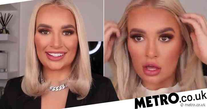 Molly-Mae Hague changes foundation to lighter shade as she addresses backlash after beauty tutorial