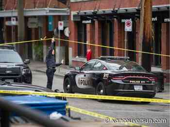 Four in hospital after stabbing in Vancouver's Yaletown early Sunday