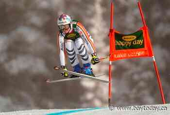 Rebensburg prevails on tricky course to win Lake Louise World Cup super-G