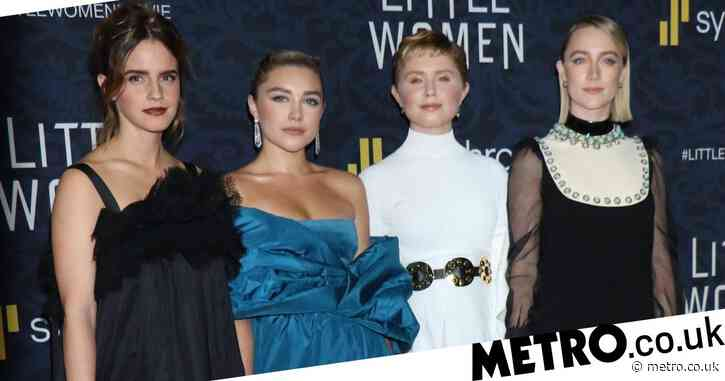 Emma Watson, Florence Pugh, Eliza Scanlan and Saoirse Ronan step out for Little Women premiere