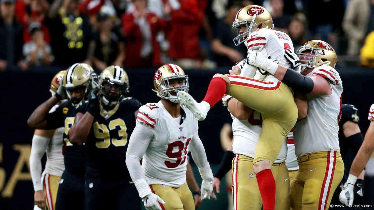NFL Week 14 scores, highlights, updates, schedule: Robbie Gould helps 49ers edge Saints in shootout