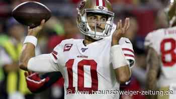 NFL: San Francisco gewinnt Spitzenspiel in letzter Minute