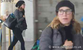 Felicity Huffman is seen solo at LA hotel for second day in a row