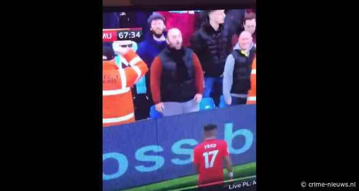 VIDEO: Fan Manchester City aangehouden voor racisme na beelden op tv