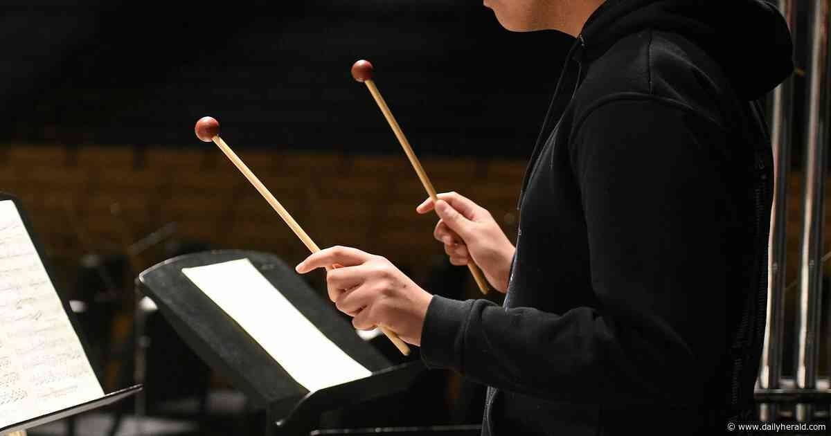 Waubonsie percussionist performs with national honor ensembles
