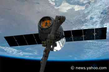 SpaceX Dragon spacecraft carried up 'mighty mice' and a new robot companion to the International Space Station