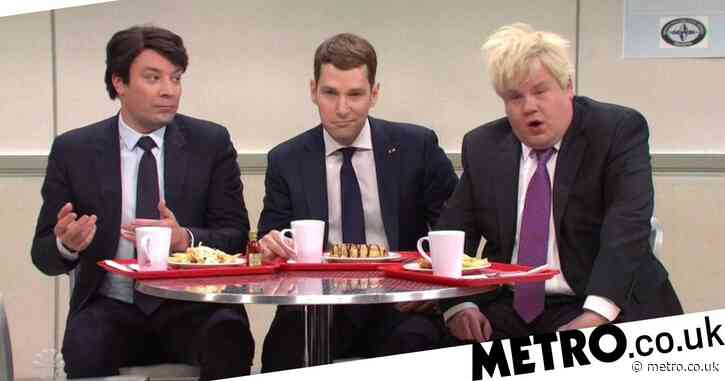 Jimmy Fallon, Paul Rudd and James Corden rip fake Trump in Mean Girls-style Nato Summit SNL skit