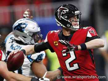 Ryan to OZ leads Falcons to another rout of Panthers, 40-20