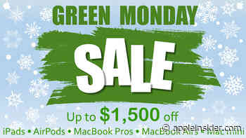 Apple Green Monday deals are live: Save up to $1,300 on new Macs, Apple Watches, iPads, AirPods & more