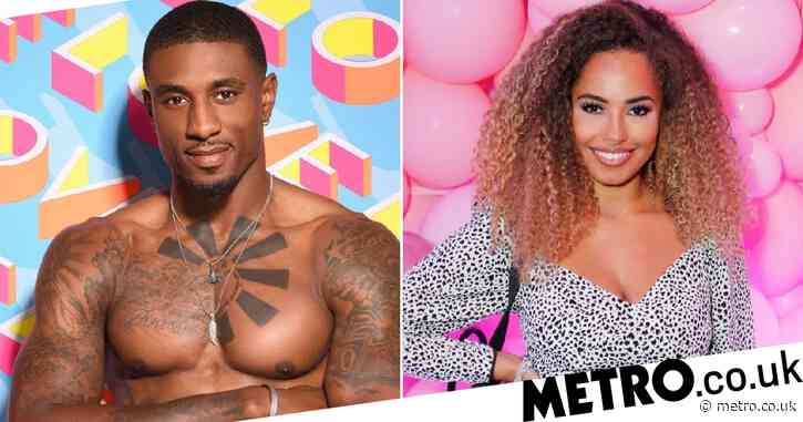 Ovie Soko supported by Amber Gill at basketball game – after Love Island star rules out romance