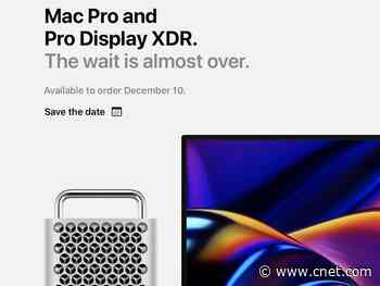 Apple Mac Pro, Pro Display XDR to be available to order Dec. 10     - CNET