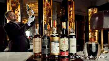 World's largest private whisky collection revealed ahead of auction