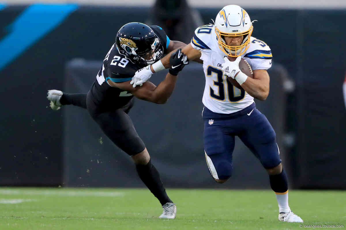 Chargers End 3-Game Skid, Crush Jaguars 45-10