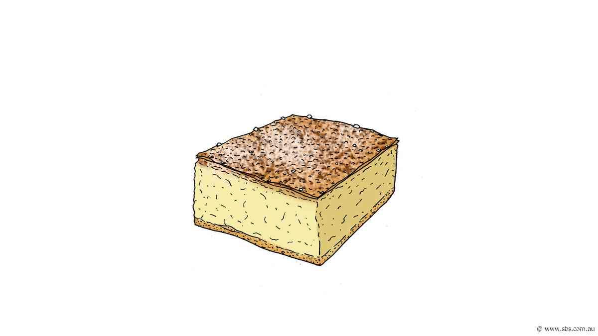 Baklava vanilla slice