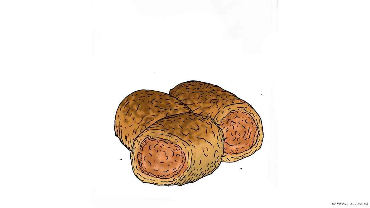 Sucuk sausage rolls