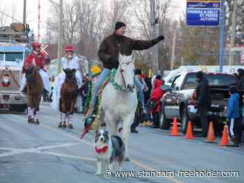 Santa Claus parade in Lancaster was a real dog and pony show