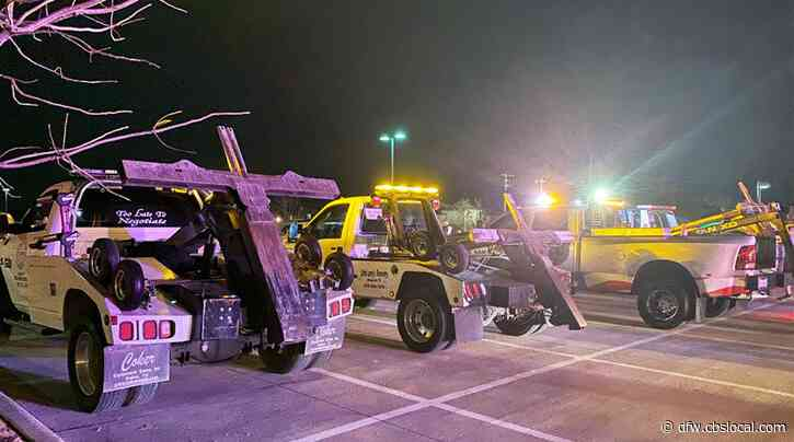 North Texas Towing Community Gathers, Honors Operator Who Was Killed On The Job