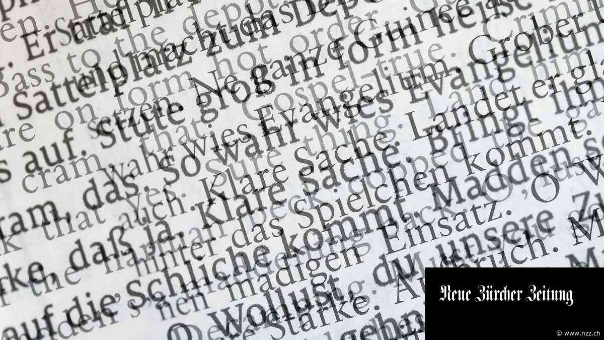 Wie lispelt man auf Deutsch? Über die (kleinen und grösseren) Tücken des Übersetzens