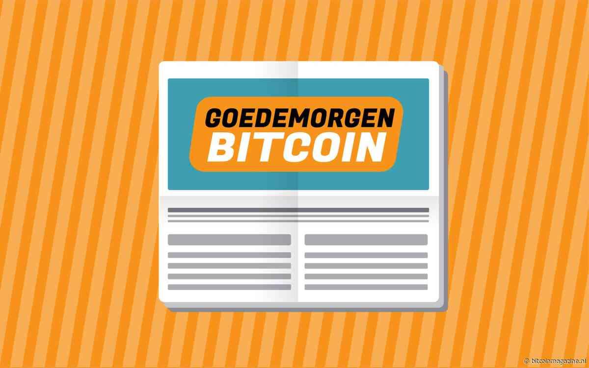 Goedemorgen Bitcoin nieuwsupdate van maandag 9 december